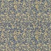 Moda - Voysey by The V&A - 6682 - The Lisston Leaf Print in Blue  - 7328 13 - Cotton Fabric